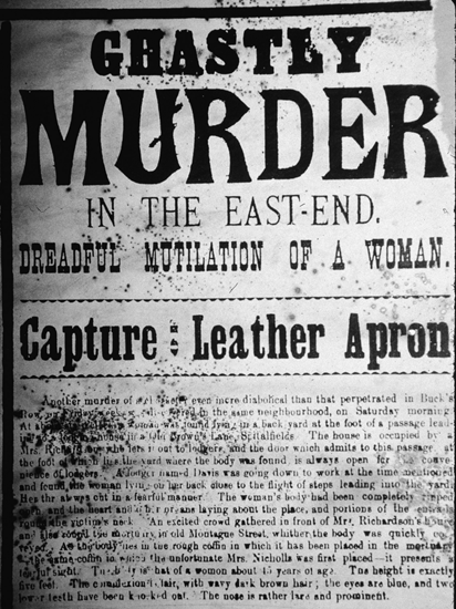 Jack the Ripper newspaper headline