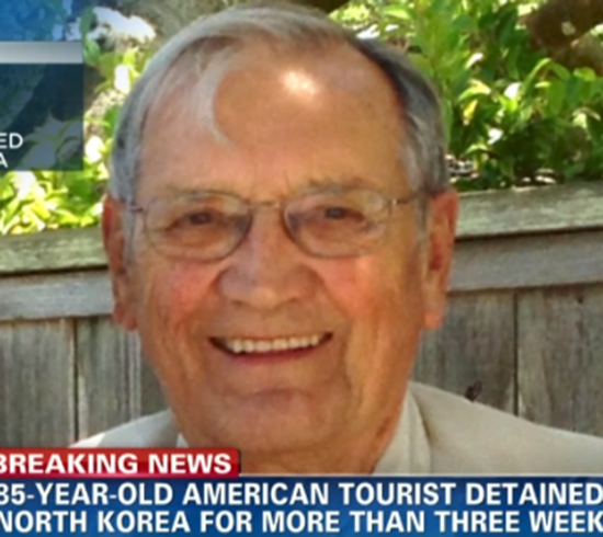 North Korea detained 85-year-old man on espionage charges
