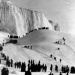 Frozen Niagara Falls circa 1890