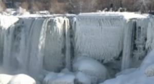 Frozen Niagara Falls in 2014