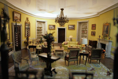 The White House Yellow Oval Room - sight of Thomas Jefferson ghost