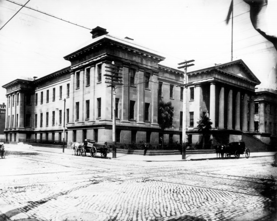 Early rare photo of the San Francisco Mint