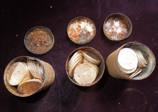 $10 million worth of 1890 gold coins found buried in couple's backyard