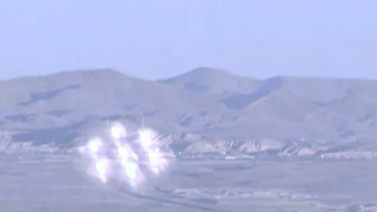Hexagon-shaped UFO flying above military base in Nevada