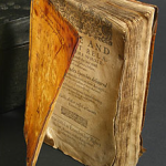 Book bound in human skin