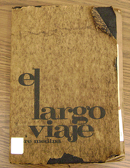 Spanish book published in 1972 - bound in human skin