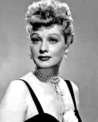 The beautiful Lucille Ball