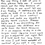 Letter sent to Melvin Belli on December 20, 1969 (postmarked San Francisco)