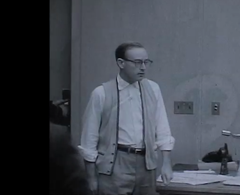 Clip of Earl Van Best on August 31, 1962 during his sentencing in San Francisco (for trying to run off with