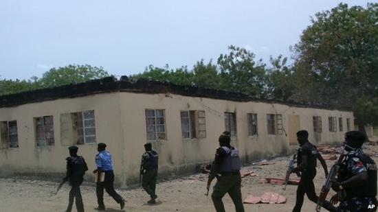Chibok Borno school in Nigeria where the girls were taken from
