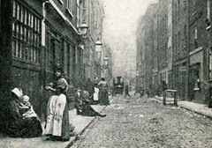 Victorian-era Flower and Dean Street (London)