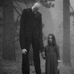 Slenderman steals small children in the night thumb