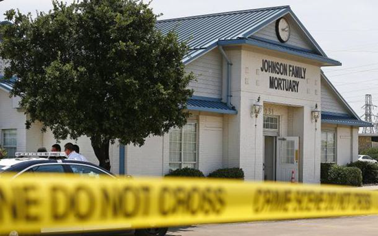 Eight decaying corpses found inside Johnson Family Mortuary