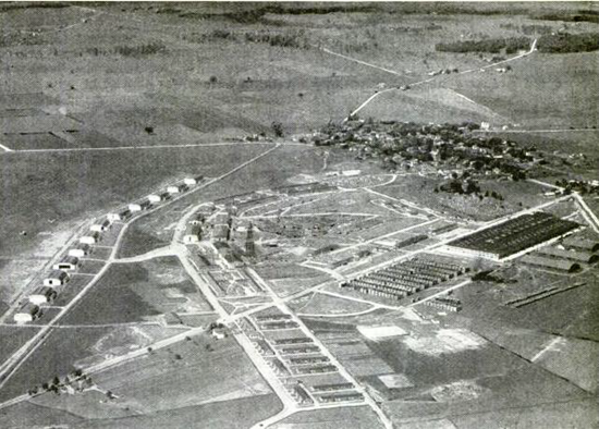 Wright Patterson Air Force Base (Wright Field and Fiarfield Air Depot) around 1920
