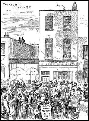 International Working Mens Educational Club in Whitechapel