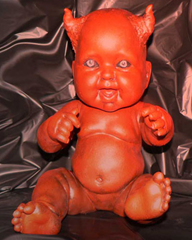 New Orleans demon baby doll