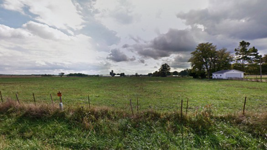 Outside the small village of Waltonville, Illinois thumb