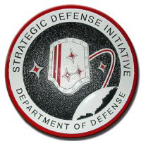 Strategic Defense Initiative (SDO) or Star Wars Project logo