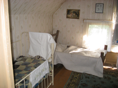 Modern day photo of one of the Villisca Ax Murder bedrooms