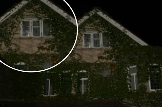 Ghost of the Langsmeade House Nanny captured in photograph during ghost hunting expedition