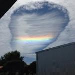 Fallstreak Cloud photographed over Australia