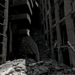 "The ""Stairway to Hell"" in abandoned Hashima Island"