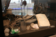 Bill Biggart items found in the World Trade Center debris
