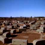 Researchers are asking the public for assistance in identifying this group of trailers which look eerily similar to the trailers used during the construction of the Oak Ridge National Laboratory in Tennessee in 1943