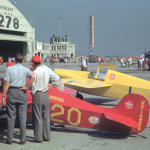 Photos of the 1948 National Air Races in Cleveland, Ohio were found in the batch