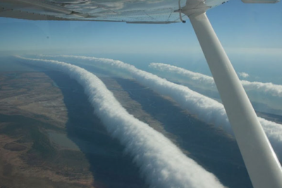 This photo of a plane releasing a chemtrail has been hotly debated