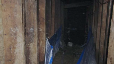 Police say the tunnel was sophisticated and built by someone who knew what they were doing