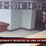 Woman in Santiago, Chile claims she was violently shoved down by a ghost thumb