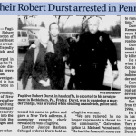 Fugitive heir Robert Durst arrested in Pennsylvania