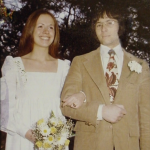 "Robert Durst and Kathleen ""Kathie"" McCormack Durst wedding - 1973"