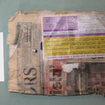 Newspaper found amongst bags of body parts with address leading to 2213 Avenue K Galveston, Texas