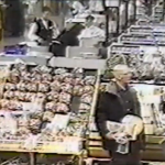 Video surveillance footage showing Robert Durst stealing a sandwich at a Wergans Supermarket