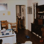 Inside of Susan Berman home