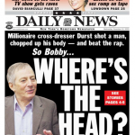 Robert Durst newspaper headline