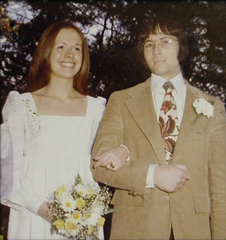 The wedding of Robert Durst and Kathleen McCormack