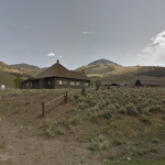 Lamar Valley Ranger Station in Yellowstone National Park (formerly Gary Brown's home)