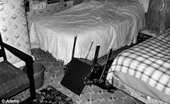 The Enfield Poltergeist levitated objects and tossed furniture around the room