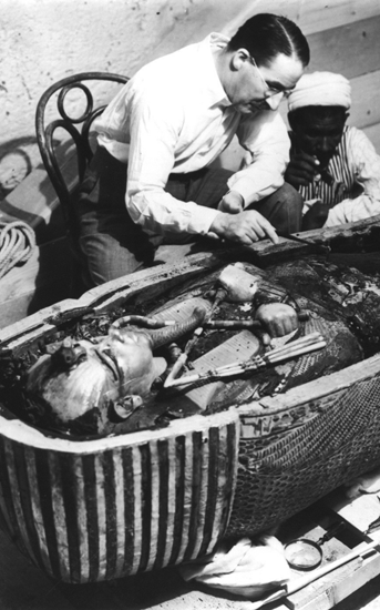 The opening of King Tut's sarcophagus – 1924.