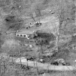 Aerial view of the Westchester home where Albert Fish murdered Grace Budd