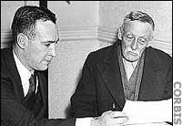 Albert Fish with Atty. James Dempsey