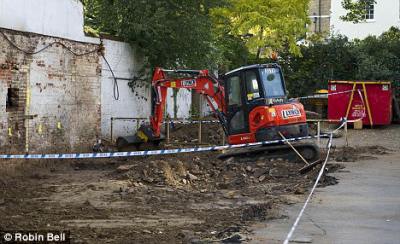 Workers discovered Julia Martha Thomas' skull while digging next to the old pub
