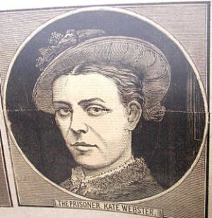 Drawing of Kate Webster