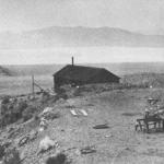 Early photo of Groom Lake Mine