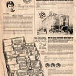 Newspaper article providing the facts of the H.H. Holmes case