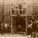 Purported picture of H.H. Holmes execution by hanging