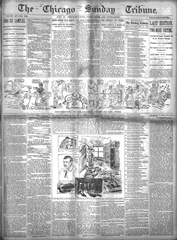 Chicago Sunday Tribune - July 21, 1895